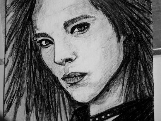 Bill Kaulitz por folle-de-bill-art